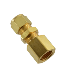 Brass IS-319 / BS - 218 Bulk Head Female Connector - BFC