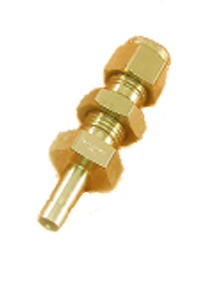 Brass IS-319 / BS - 218 Bulk Head Reducer - BR