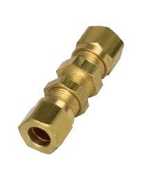 Brass IS-319 / BS - 218 Bulk Head Union - BU