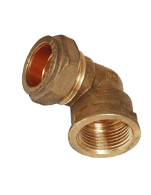 Brass IS-319 / BS - 218 Female Elbow - FE