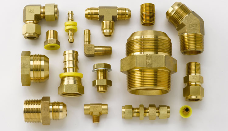 Brass IS 319 Instrumentation Tube Fittings