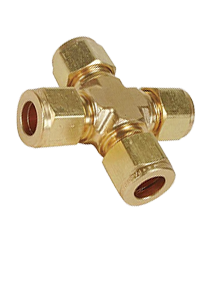 Brass IS-319 / BS - 218 Union Cross - UC