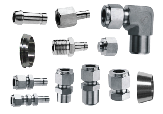 Duplex and Super Duplex Steel Instrumentation Tube Fittings