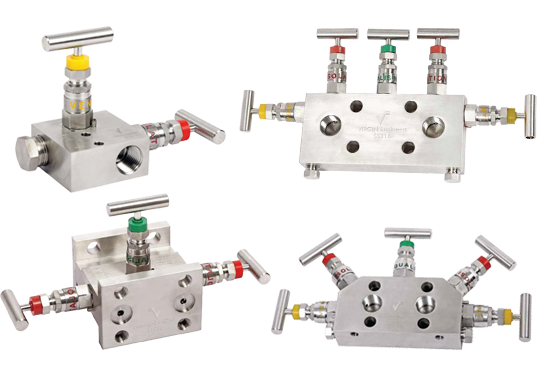 Duplex and Super Duplex Steel Manifold Valves