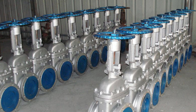 Duplex Steel S31803 / S32205 Forged Steel Gate Valves