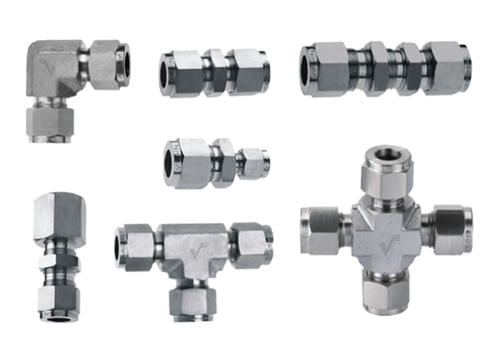High Nickel Alloy Instrumentation Tube Fittings
