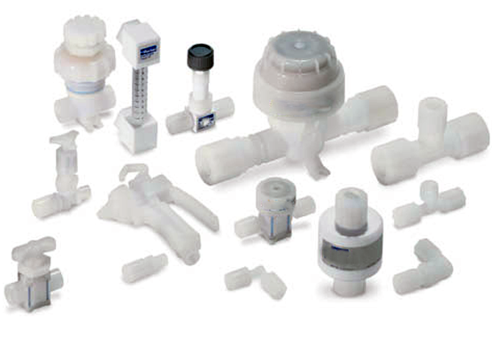 TEFLON / PTFE Instrumentation Tube Fittings