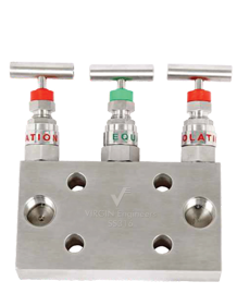 Stainless Steel 904L Manifold-R-3 Way Valve