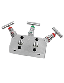 Stainless Steel Manifold-H-3 Way Valve