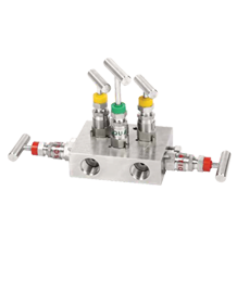 Stainless Steel 5–Way Manifold Valves