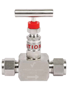Hastelloy Alloy Needle Valve – F x F – HP