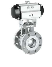 Chromium Molybdenum Segmented Ball Valves