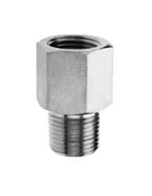 Stainless Steel Gauge Adapter