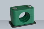SS S30400 Pipe Clamps