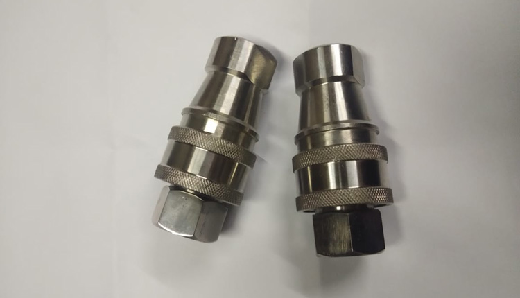 Stainless Steel 304 Double Shut Off Couplings