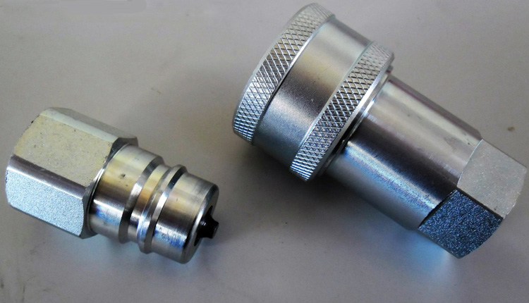 UNS S30400 Single Shut Off Couplings