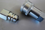 SS S30400 Single Shut Off Quick Release Couplings