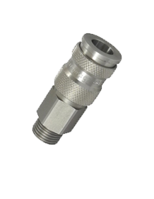Stainless Steel 304 Double Shut Off Quick Coupling
