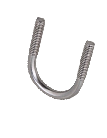 Stainless Steel 304 U-Bolt with Cushion Clamps
