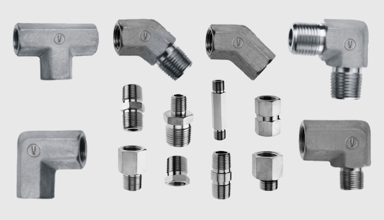 Titanium Gr.2 High Pressure Pipe Fittings