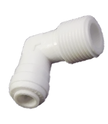 PTFE Male Pipe Weld Elbow - MPWE